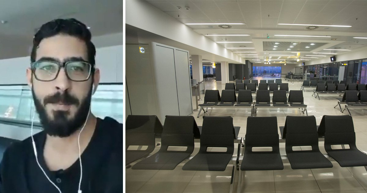 Syrian refugee has been stuck in Malaysian airport for two months