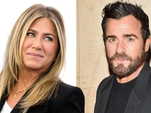 Great news, Jen! Friends star's estranged husband Justin Theroux doesn't believe in having 'ex' partners