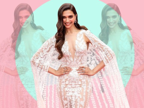 Deepika Padukone slays everyone in Cannes in angelic caped gown