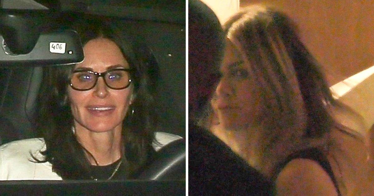 Jennifer Aniston enjoys post-break up night out with Ellen DeGeneres and Courteney Cox