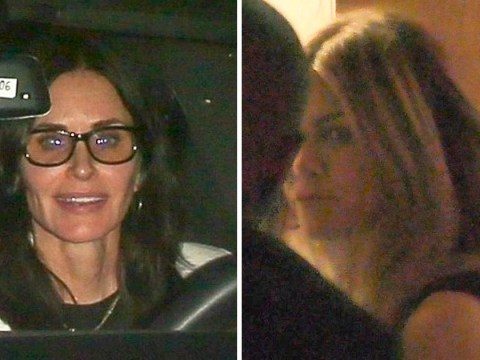 Jennifer Aniston enjoys post-break up night out with Ellen DeGeneres and Courteney Cox