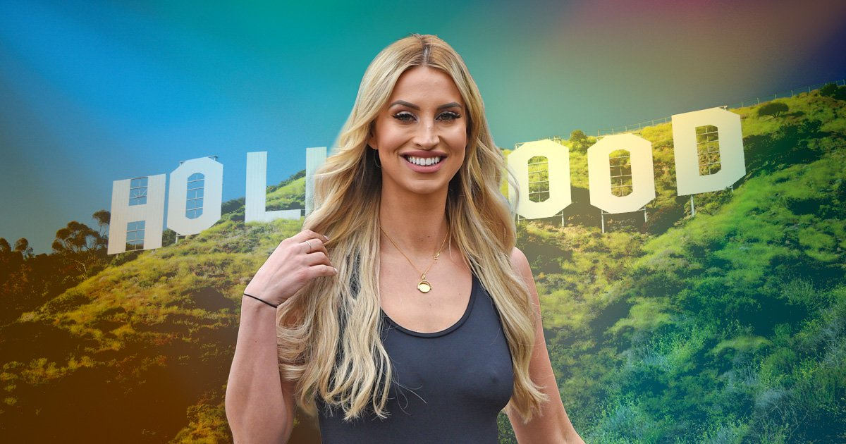 Ferne McCann 'in talks for Hollywood movie' after impressing producers with her acting
