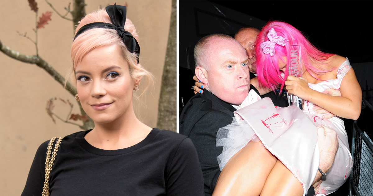 Lily Allen claims she was kicked out of awards ceremony 'in k-hole' after taking ketamine she thought was cocaine