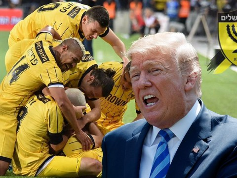 Israeli football club changes name to Donald Trump because it loves him