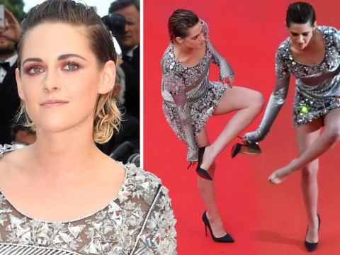 Kristen Stewart is every one of us as she removes high heels at Cannes premiere for BlacKkKlansman