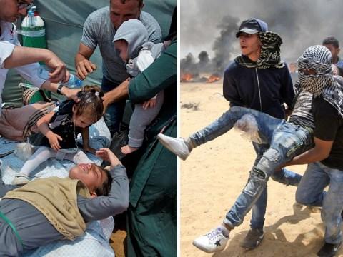 Baby dies in Gaza after breathing in tear gas as US Embassy opens in Jerusalem