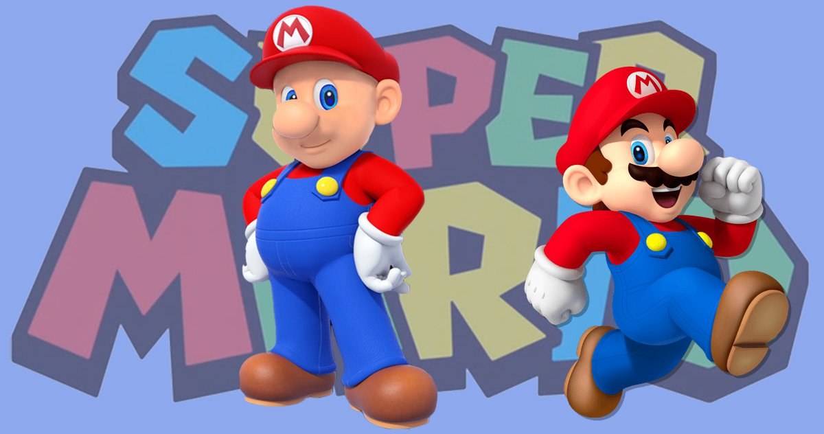 Mario without a moustache has really freaked Nintendo fans out – and the image will haunt your dreams