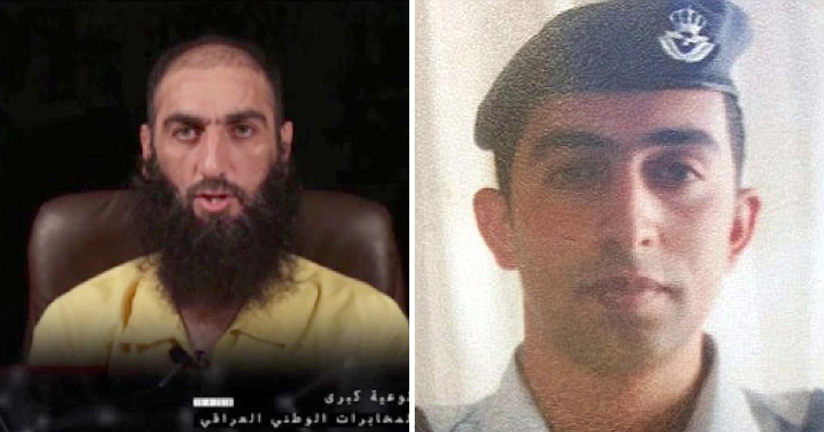 Isis leader who burned pilot alive in a cage is finally caught