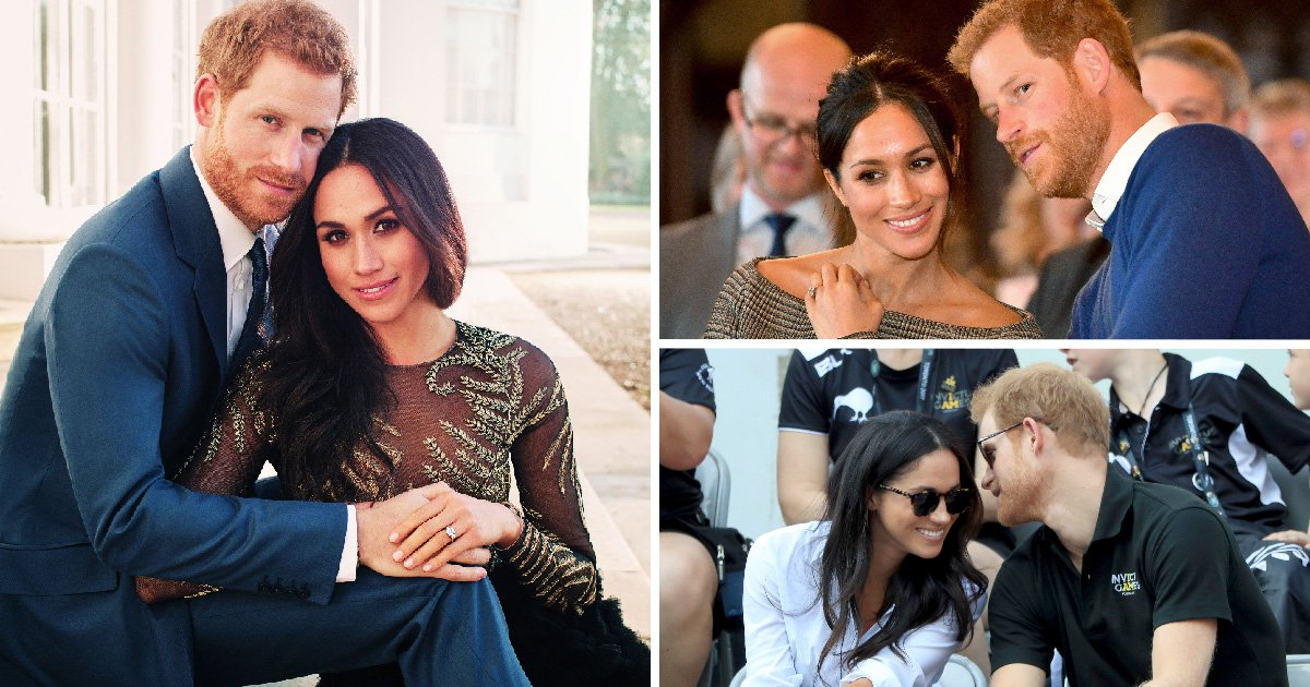 Harry and Meghan's love story in pictures