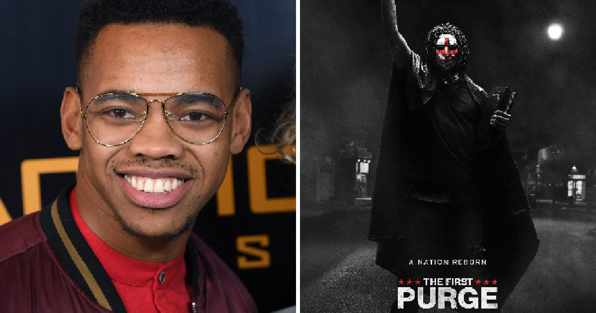 Former EastEnders star Joivan Wade follows in Ben Hardy and Michelle Ryans' footsteps after landing role in The First Purge