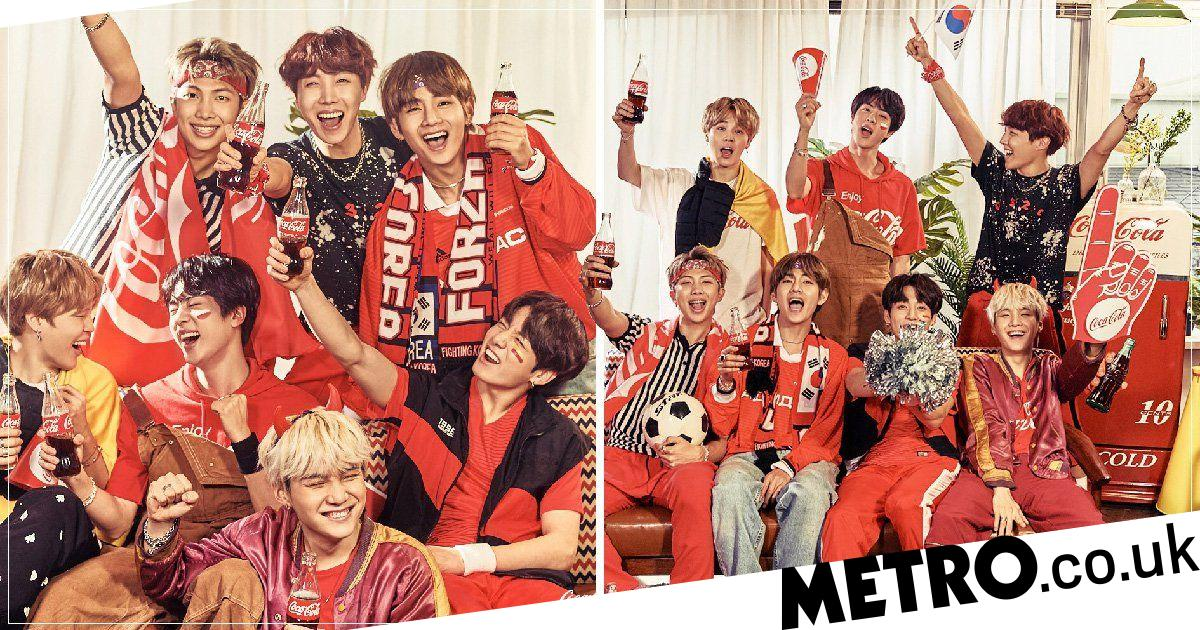 BTS are all set for the World Cup as they party in new Coca-Cola campaign