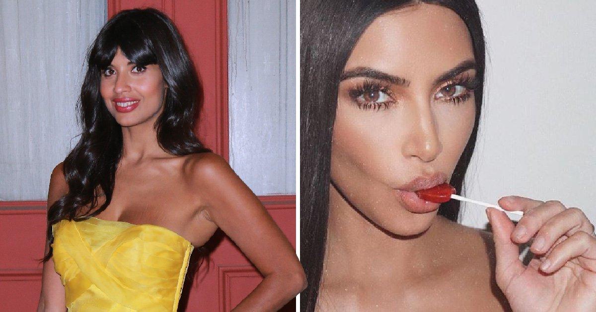 'You toxic influence': Jameela Jamil tells Kim Kardashian to 'f*** off' after she promotes appetite suppressant lollipop