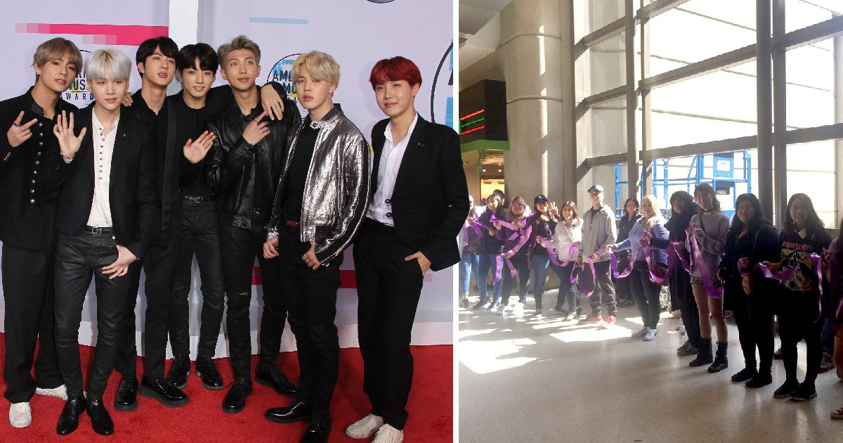Inside the Purple Ribbon Army – the BTS fans trying to protect the K-pop superstars