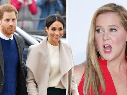 Amy Schumer believes Meghan Markle will have 'the worst' time at royal wedding to Prince Harry