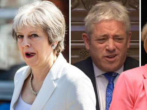 Theresa May slams John Bercow for calling Andrea Leadsom a 'stupid woman'