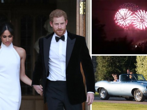 Newlyweds Meghan and Harry ready for married life after partying behind closed doors