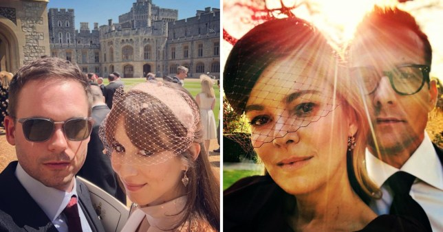 suits cast share behind the scenes snaps from royal wedding metro news suits cast share behind the scenes