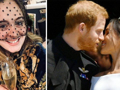 Adele remembers Princess Diana as she toasts Meghan Markle and Prince Harry's royal wedding from home