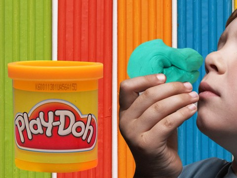 Hasbro trademarks the sweet scent of Play-Doh AKA childhood