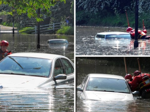 Major flooding in Newcastle despite country being basked in sunshine