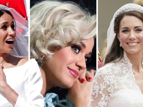 Katy Perry thinks Meghan Markle's wedding dress didn't fit properly – and preferred Kate Middleton's gown