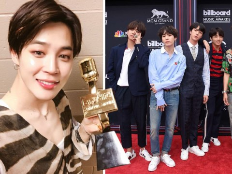 'I will never forget it': Jimin thanks the ARMY after they vote BTS to win Top Social Artist