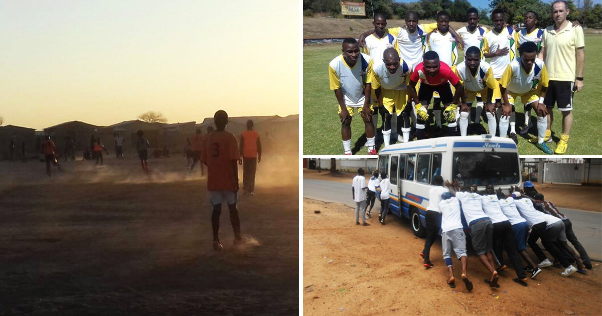 How football is repairing wounds of violence and poverty in Zimbabwe