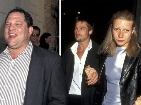 Brad Pitt 'threatened to kill Harvey Weinstein', claims Gwyneth Paltrow