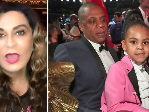 Blue Ivy continues reign of sass as she tells Tina Knowles off for filming in theatre