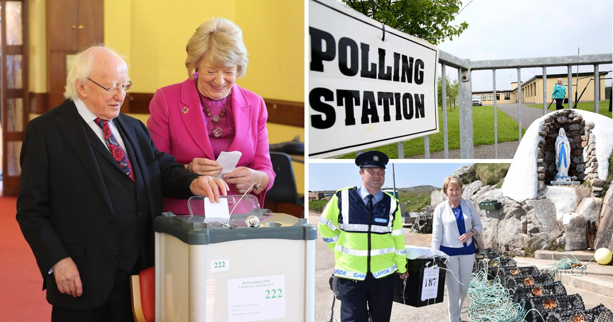 Ireland goes to the polls today to amend the eighth in historic referendum