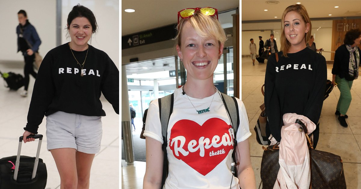 Emotional outpouring from Irish women voting yes to #Repealthe8th
