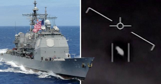 Tic Tac' UFO stalked US Navy ship for days, Pentagon report
