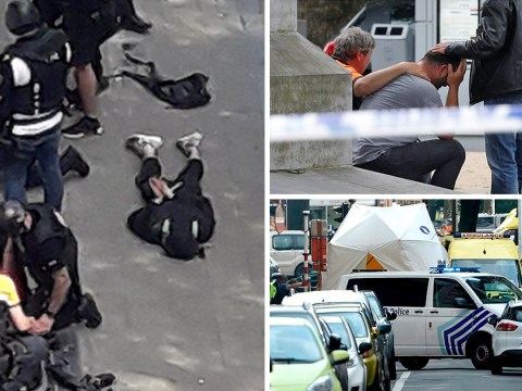 Liege gunman stabbed police several times, stole their guns then shot them