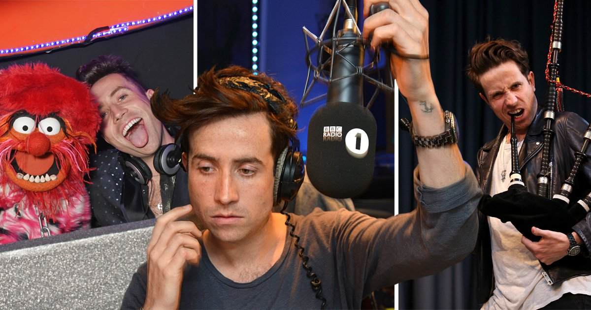 Nick Grimshaw is swapping early starts on Radio 1 for morning classes as he goes back to school
