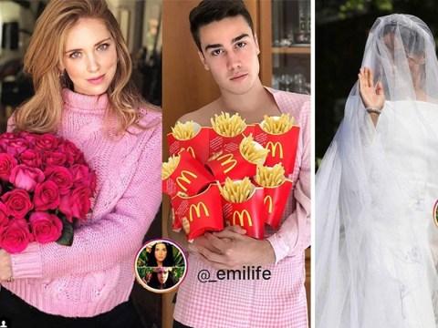 Emi Ferrari hilariously recreates celebrity photos on Instagram