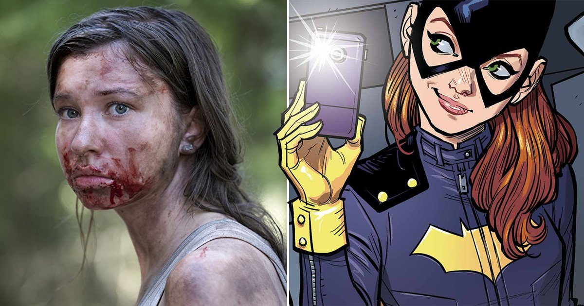 The Walking Dead's Katelyn Nacon is ready to swap fighting off zombies for Batgirl's cape and cowl