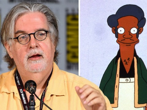 'Who's a better Indian character?' Matt Groening claims criticism of The Simpsons' Apu is 'tainted'