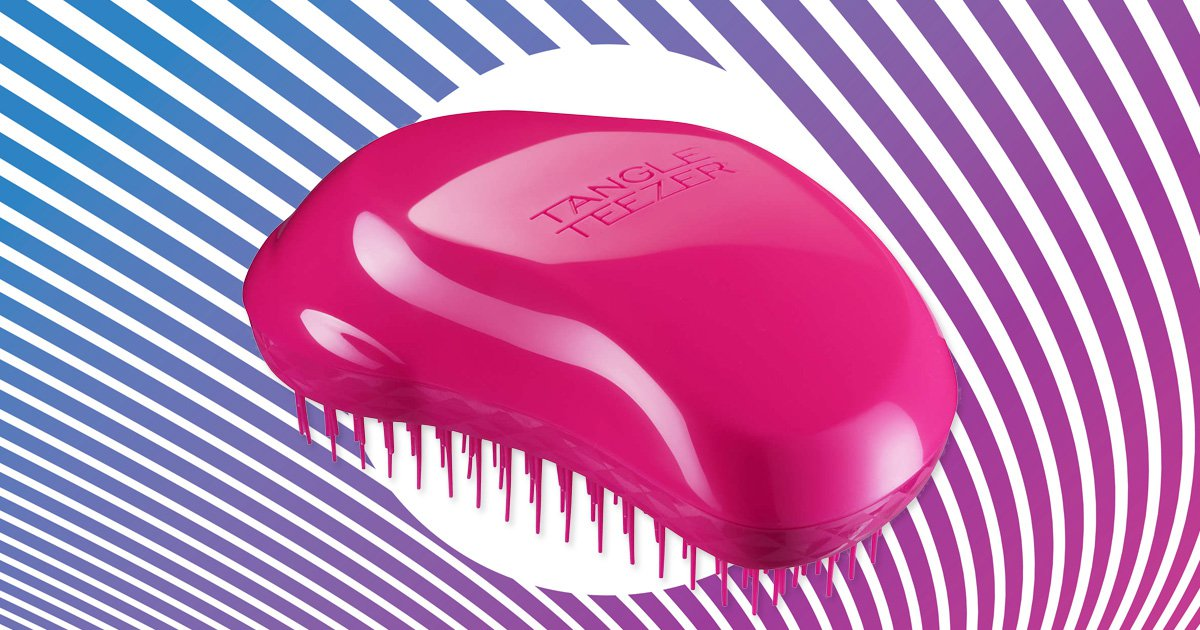 Poundland just released their version of a Tangle Teezer brush and yes it's £1