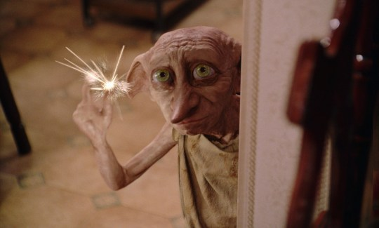 Harry Potter And The Chamber Of Secrets Medium shot of Dobby the House Elf . ?? Warner Bros. Entertainment, Inc.