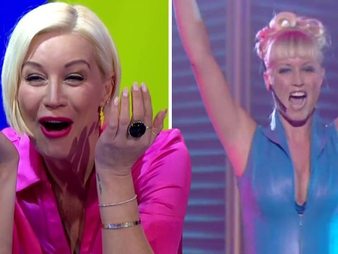 Denise Van Outen cringes as she relives 90s rendition of Abba's Gimme Gimme Gimme