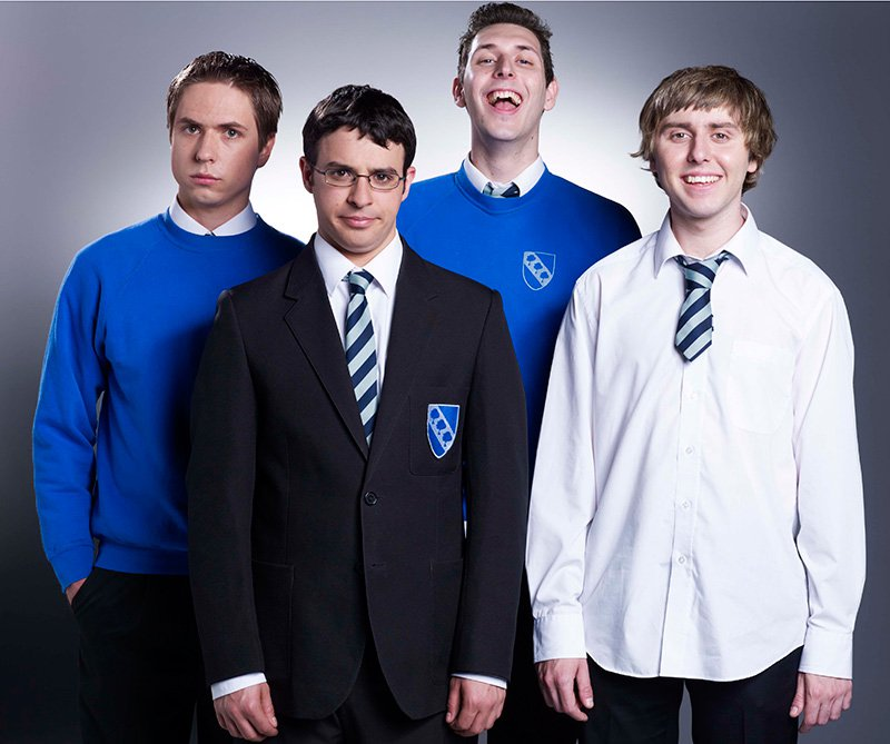 The Inbetweeners just trolled us all with a fake reunion photo and we are heartbroken