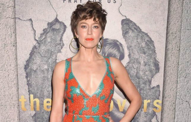 Mandatory Credit: Photo by John Milne/SilverHub/REX/Shutterstock (8573404ac) Carrie Coon The Leftovers TV series season 3 premiere, Arrivals, Los Angeles, USA - 04 Apr 2017