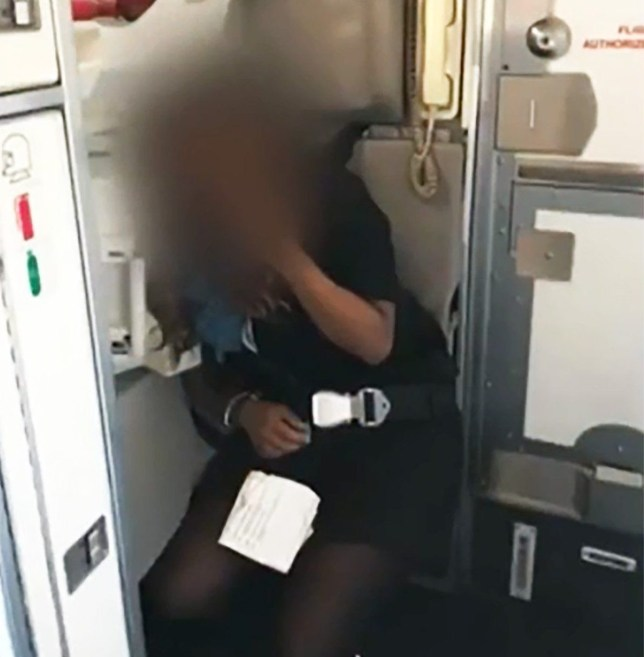 United Airlines forced to refund passengers after air hostess gets drunk and starts swearing over tannoy METRO GRAB taken from: http://video.metro.co.uk/video/met/2018/05/05/854442662732742122/1024x576_MP4_854442662732742122.mp4 Credit: CBS Chicago