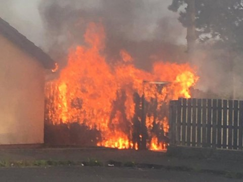 Pensioner's home set on fire by arsonists