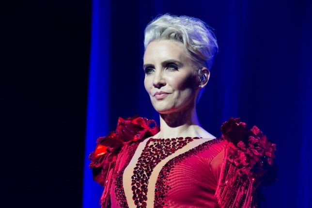Mandatory Credit: Photo by Amy Muir/REX/Shutterstock (9228693b) Steps - Claire Richards Steps in concert at the Aberdeen Exhibition and Conference Centre, Scotland - 17 Nov 2017