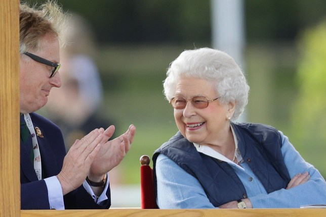 WINDSOR, ENGLAND - MAY 09: Queen Elizabeth II attends the first day of the Royal Windsor Horse Show on May 9, 2018 in Windsor, England. The Royal Windsor Horse Show is hosted in the private grounds of Windsor Castle and is attended by members of the Royal family including the Queen. (Photo by Dan Kitwood/Getty Images)