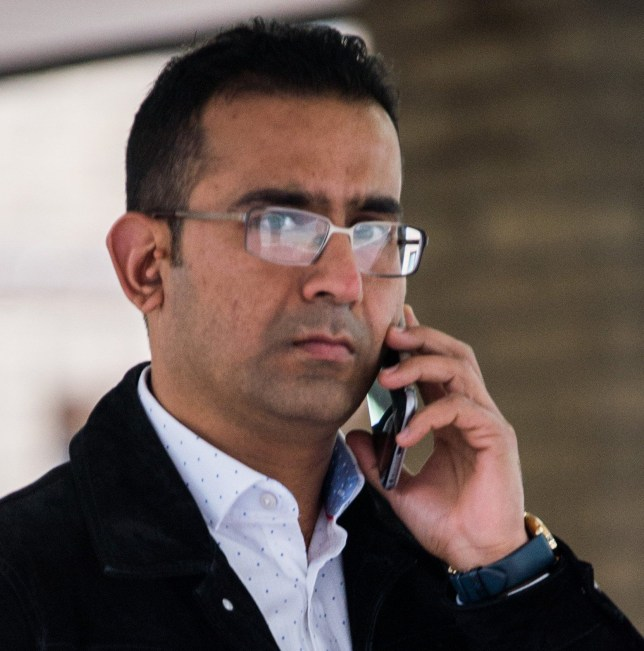 Pic shows Mohammed Durrani at court. An Uber driver who said he was 'trying to control himself' when he had sex with a passenger has been found guilty of rape. Muhammad Durrani, 38, attacked the 27 year-old woman after picking her up outside a live music club in Clapham, south London, jurors heard. SEE STORY CENTRAL NEWS. 020 72360116.