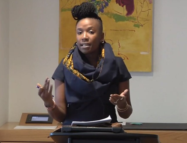 "Thursday, January 12, 2017 - Seminar Title: ""International Law and Xenophobic Anxiety"" Speaker: Professor Tendayi Achiume (UCLA) Venue: International Law in the Global South Research Seminar Series - Osgoode Hall Law School, Toronto Credit: Vimeo/Osgoode Digital Commons"