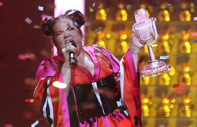 Netta from Israel wins the 2018 Eurovision Song Contest in Lisbon