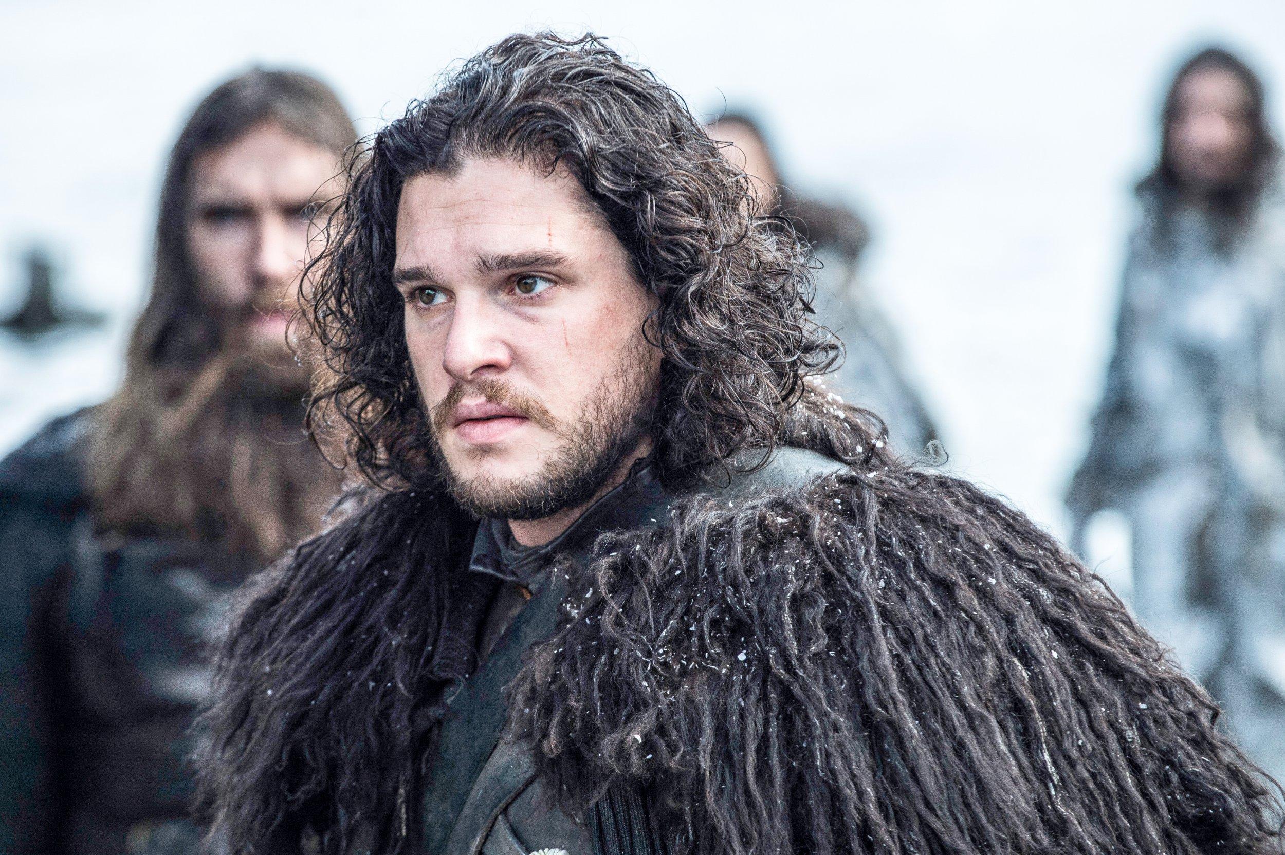 Game of Thrones. Series 5. Episode 8. Hardhome. Harington, Kit as Jon Snow